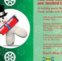 Företag julfest inbjudan