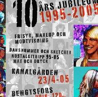 10 år Jubileumsannons