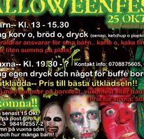 Halloweenfest invigning